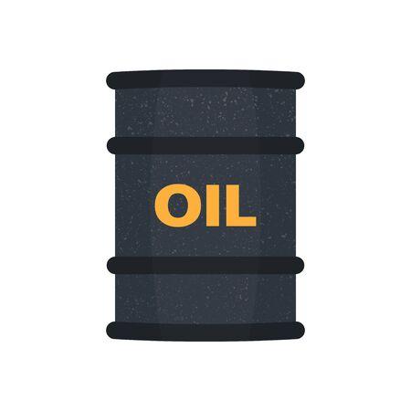 pail tank: Barrel oil  flat style