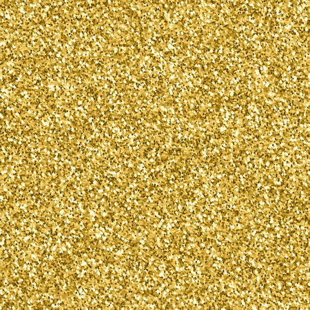 Gold glitter texture. Golden explosion of confetti. Golden drops abstract  texture . Design element. Vettoriali