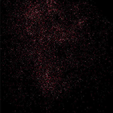 pink and black: Pink glitter texture on a black background. Pink explosion of confetti. Pink grainy abstract  texture on a black  background.  Event vector background.  Vector illustration,eps 10.