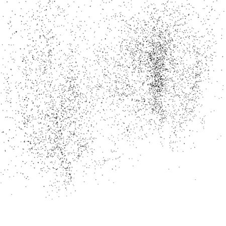 grainy: Grainy abstract texture on a white background. Flat design element.