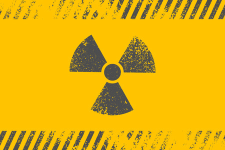radioactive: Radioactive symbol. Design element. Vector illustration Illustration