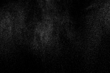 rain shower: abstract splashes of water on a black background. abstract spray of water. abstract rain. shower water drops. abstract texture. Stock Photo