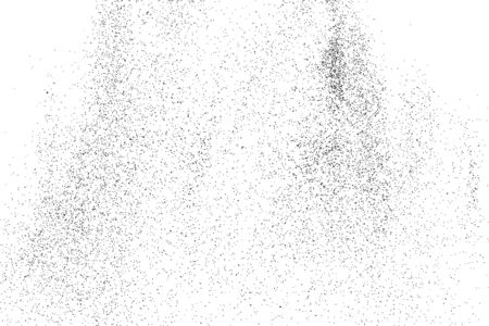 GRAINY: Abstract grainy texture isolated on white background. Flat design element. Vector illustration,eps 10. Illustration