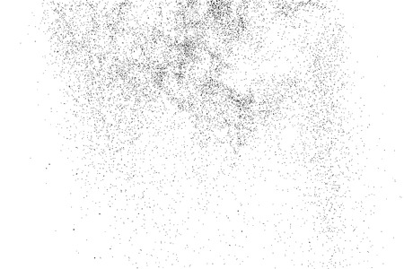 GRAINY: Abstract grainy texture isolated on white background.