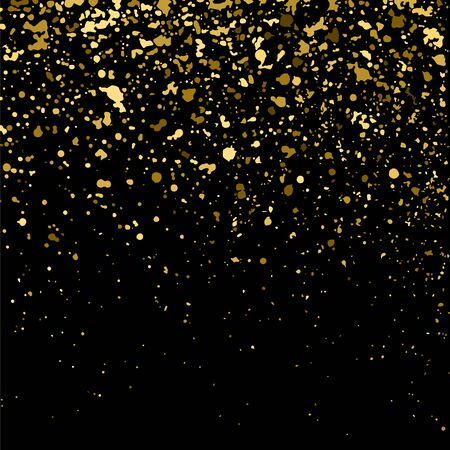 gold christmas background: Gold glitter texture on  black background.