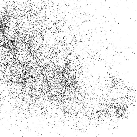 grainy: Abstract grainy texture isolated on white background. Flat design element.