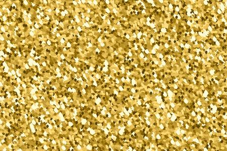 strass: Gold glitter texture. Golden explosion of confetti. Golden drops abstract  texture . Design element. Vector illustration Illustration