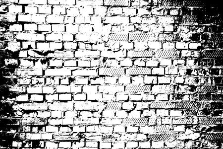 Brick wall texture. Grunge texture vector illustration,