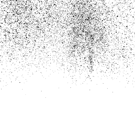 GRAINY: Abstract grainy texture isolated on white background. Flat design element. Vector illustration