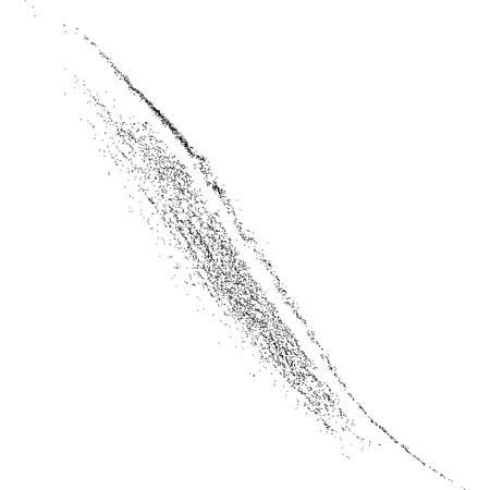 grainy: Black grainy texture isolated on white background.