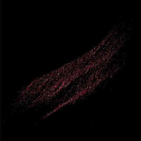 pink and black: Pink glitter texture on black background.