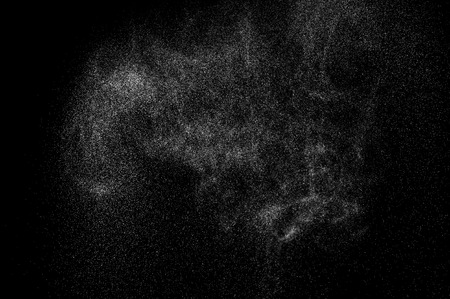 cloudburst: abstract splashes of water on a black background. Stock Photo