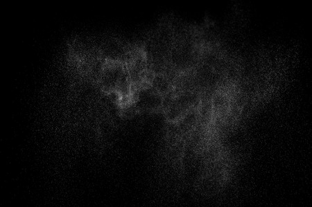 cloudburst: abstract splashes of water on a black background Stock Photo