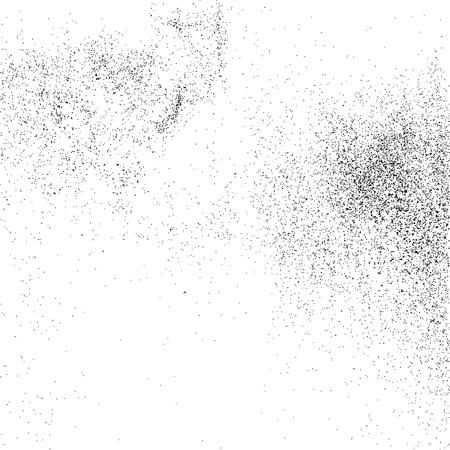 grit: Black grainy texture isolated on white background. Grunge design elements. Vector illustration