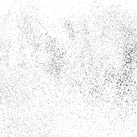GRAINY: Black grainy texture isolated on white background. Grunge design elements. Vector illustration,eps 10.