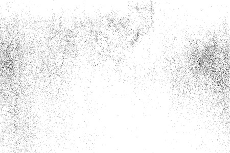GRAINY: Black grainy texture isolated on white background. Grunge design elements. Vector illustration