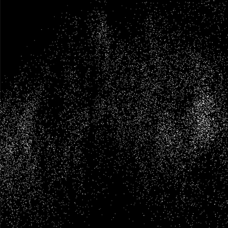 crumb: Grainy abstract  texture on  black background.  Snowflakes  design element. Vector illustration.