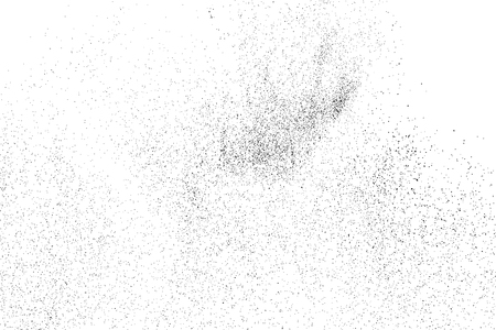 crumb: Black grainy texture isolated on white background. Grunge design elements. Vector illustration