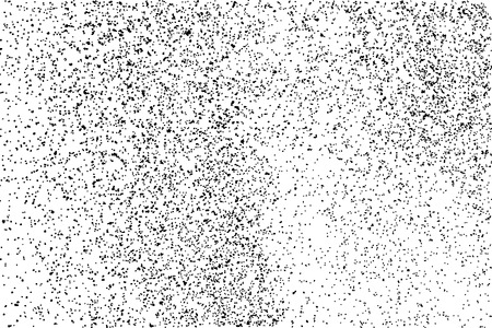 grit: Black grainy texture isolated on white background. Distress overlay textured. Grunge design elements. Vector illustration.