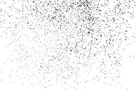 texture granuleuse noir isolé sur fond blanc. Détresse overlay texturée. Grunge éléments de conception. Vector illustration, eps 10.