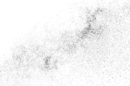 Black grainy texture isolated on white background. Distress overlay textured. Grunge design elements. 向量圖像