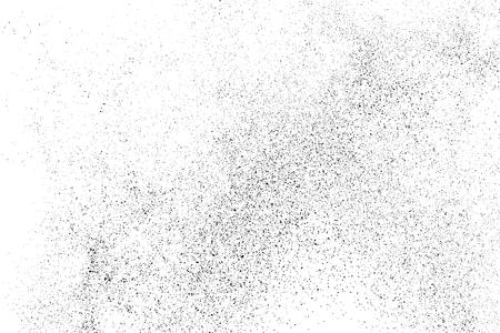 Schwarze körnige Beschaffenheit getrennt auf weißem Hintergrund. Notüberlagerung strukturiert. Grunge-Design-Elemente. Vektorillustration, ENV 10.