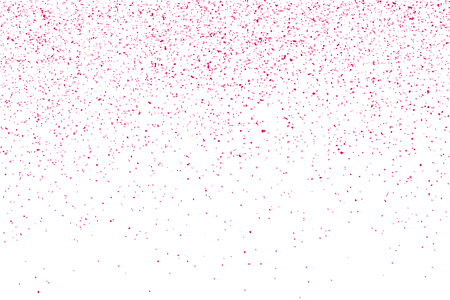 Pink abstract texture isolated on white background. Valentine Day symbol. Explosion of confetti. Иллюстрация