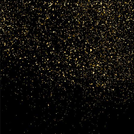 Gold glitter texture pattern
