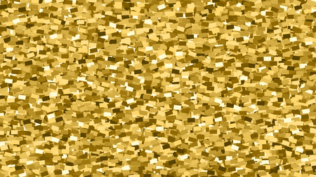 Gold Glitter Texture. Amber Particles Color. Celebratory Background. Golden Explosion Of Confetti. Vector Illustration, Eps 10.