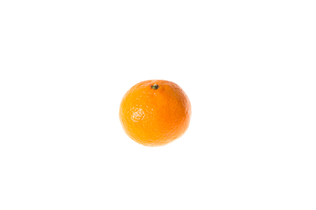 orange peel clove: Fresh juicy tangerines in bright white - vitamin diet. Stock Photo