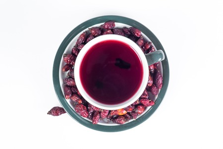 briar: A cup of hot tea from rose hips vitamin warm winter and cure colds.