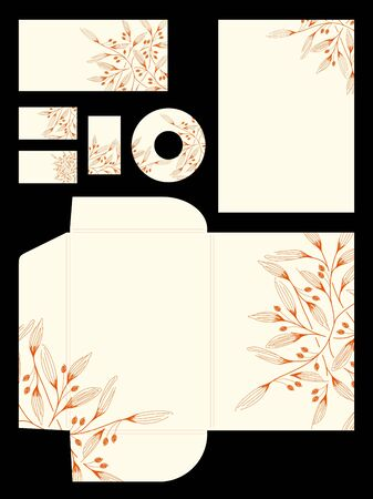 stationery set: stationery set Stock Photo