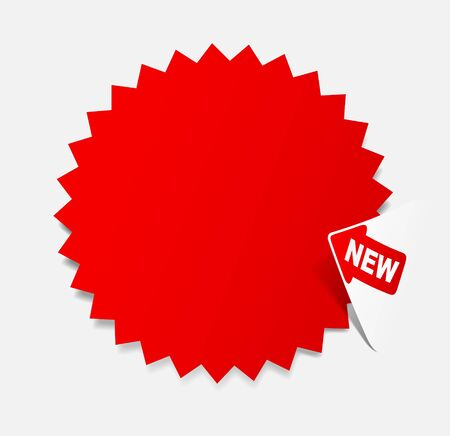newsletter, realistic design elements photo