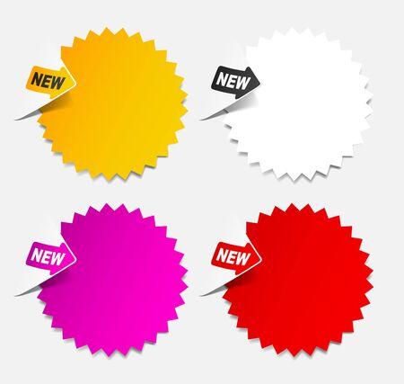 newsletter, realistic design elements Stock Photo - 11453089