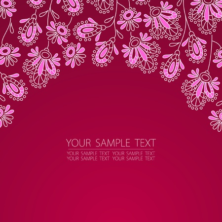 flowers vector illustration Vectores
