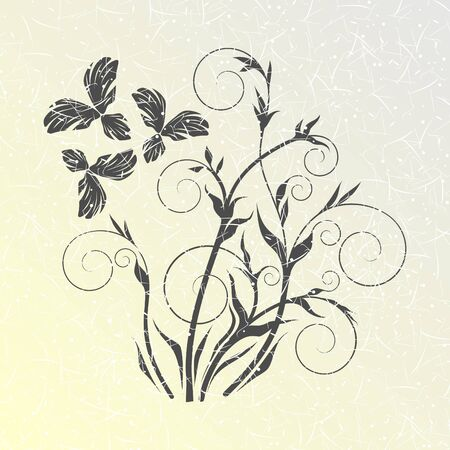 floral background Stock Vector - 13215250