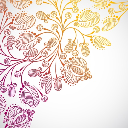 floral background Stock Vector - 13754759