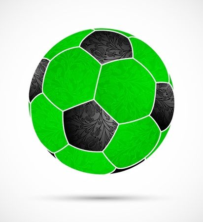 abstract soccer ball Stock Vector - 13767129