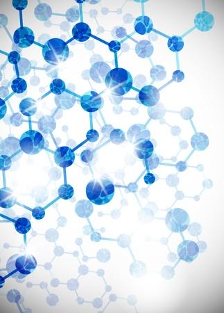 medicina: estructura molecular, resumen de antecedentes Vectores