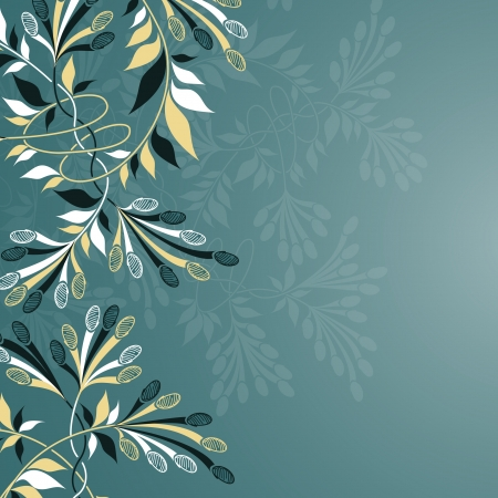 kwiatów w tle Ilustracje wektorowe
