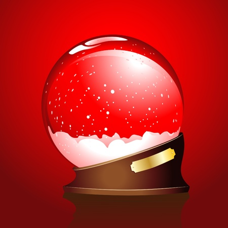 Winter sphere Illustration