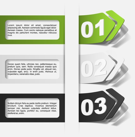 realistic design elements Vector