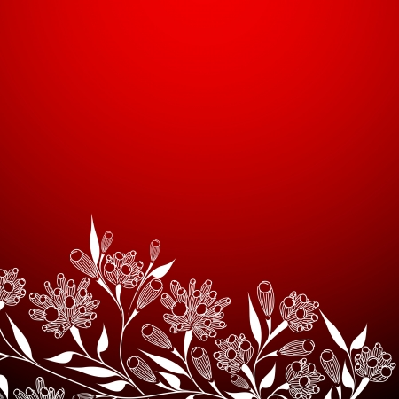floral background Stock Vector - 14711641