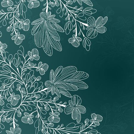 floral background Stock Vector - 15214686