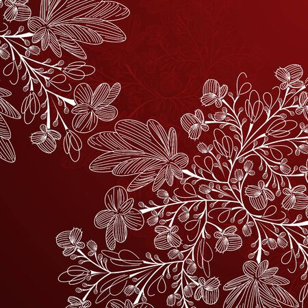 floral background Stock Vector - 15515502