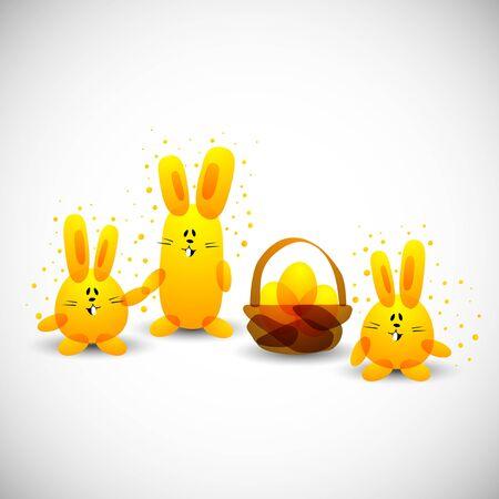 Easter rabbit Stock Vector - 15330880