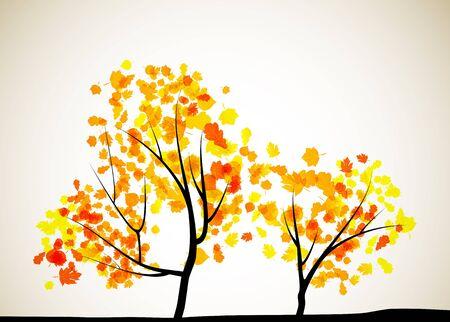 fall background: autumn tree background