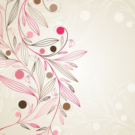 floral background Stock Vector - 15839456