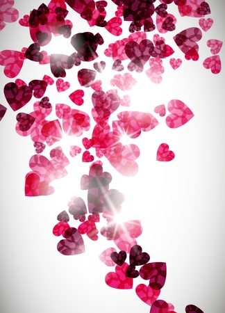 love image: valentine background Illustration