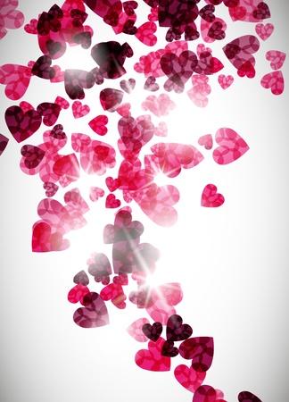 valentine background Vectores